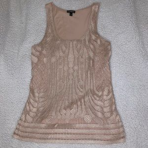 Express shimmery top